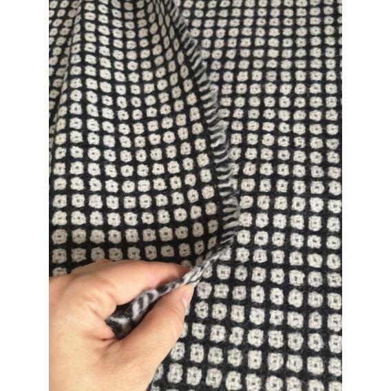 Wool coat fabric