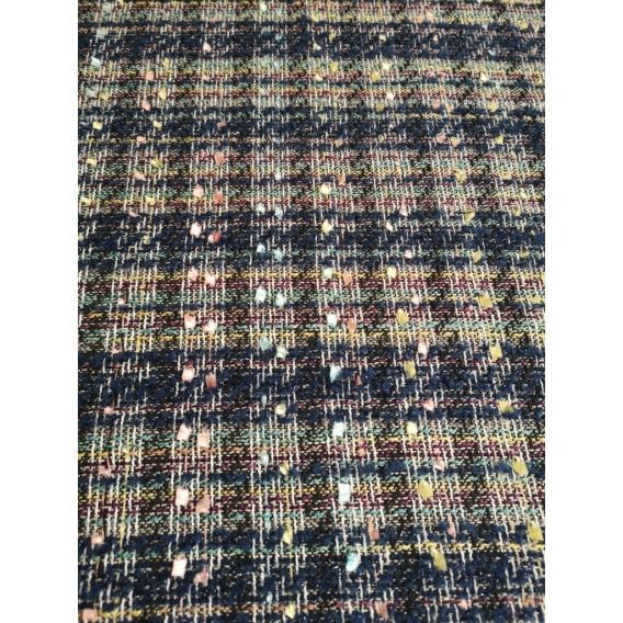 Wool tweed Chanel style