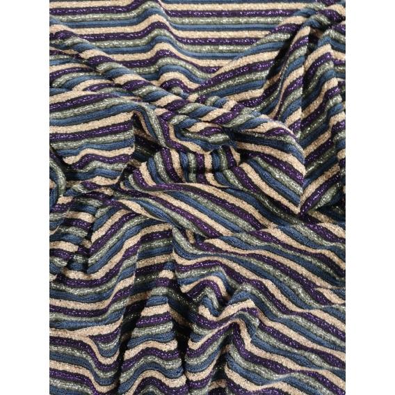 Lurex jersey knit