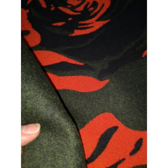 Cashmere fleece fabric Dsquared2