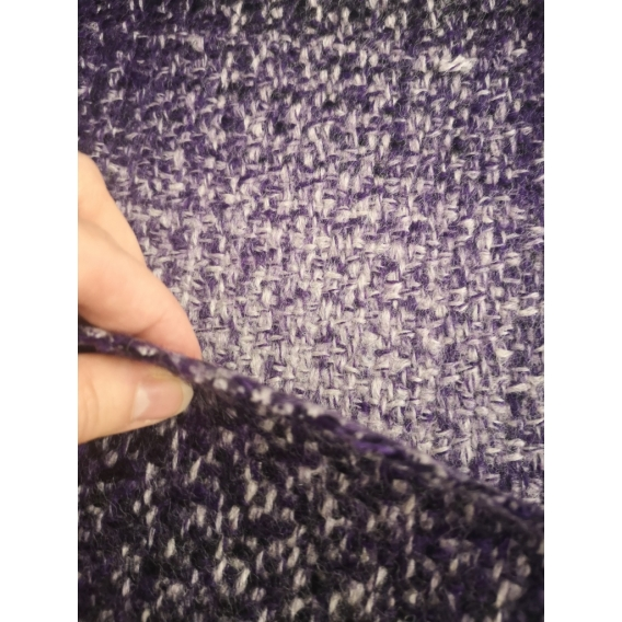 Wool coat fabric CHECK