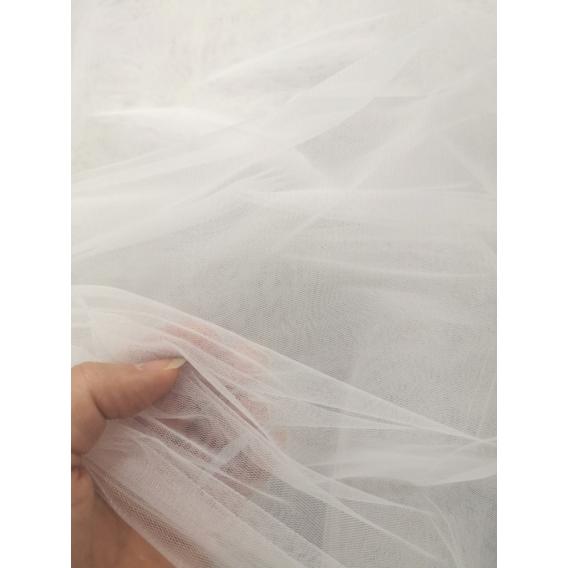 Wedding dress tulle fabric