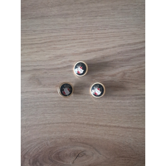 Kovový gombík 22mm