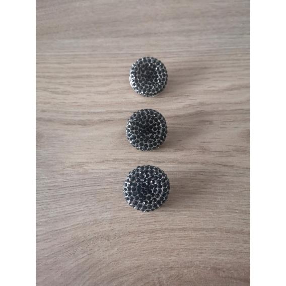 Metal button 30mm