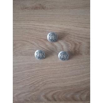 Metal button 25mm