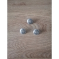 Metal button 25mm
