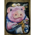 BIG Applique trim PIG