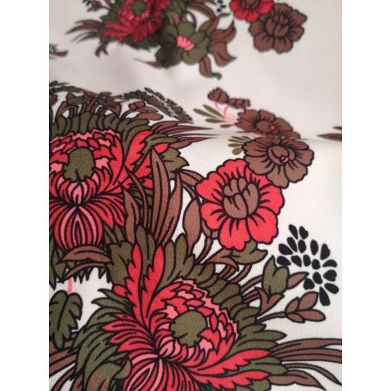 Crepe dress fabric