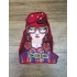 Applique Patch Lady with glasses