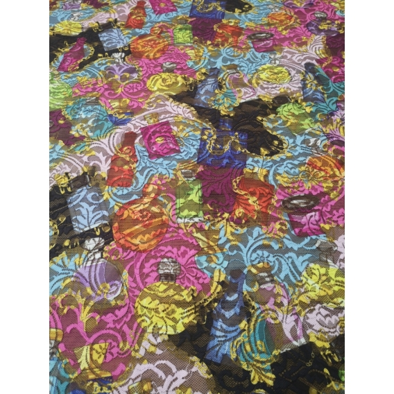 Exklusive lace fabric