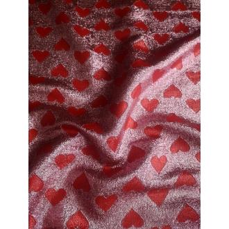 Lurex Silk crep de chine