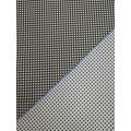 Jacquard fabric with elastane