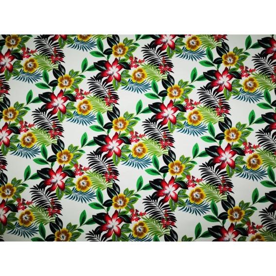 Cotton stretch jacquard