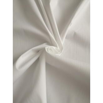 Cotton poplin stretch