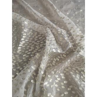 Silk Chiffon with lurex