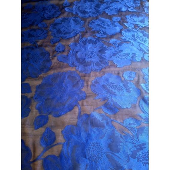 Silk organza jacquard
