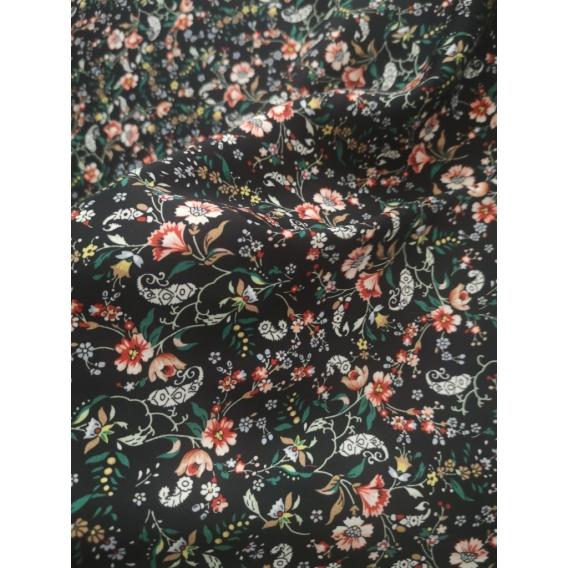 Printed viscose fabric