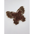 Applique trim Butterfly