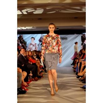 Originálna rifľová sukňa
