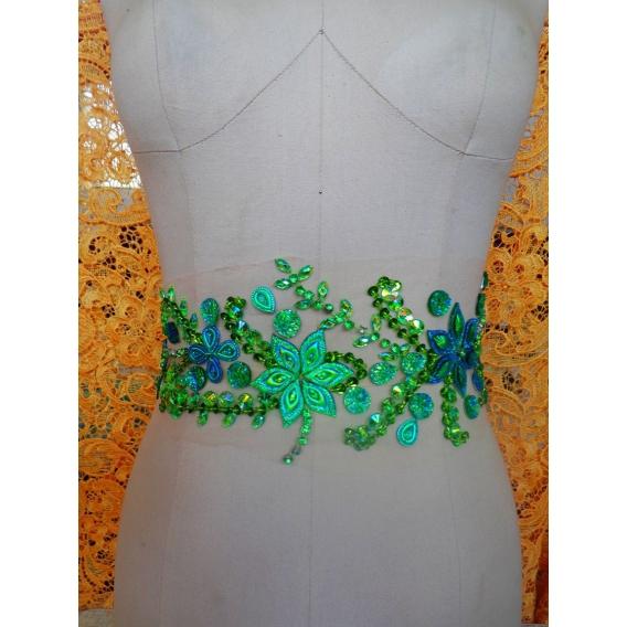 Beads applique trim DELUXE