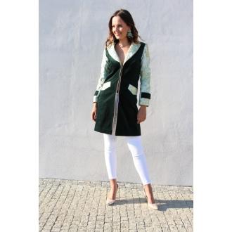 Originálny brokátový kabátik