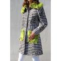 Original coat with fur 50%SALE