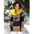 Original coat with fur 60%Sale