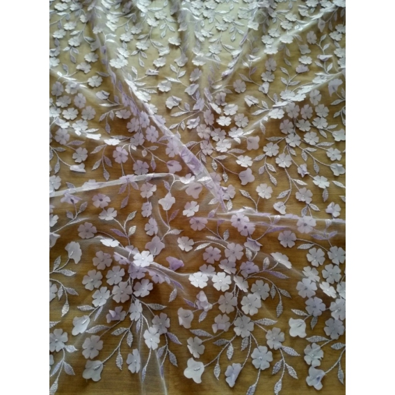 3D Tulle embroidery 10%OFF