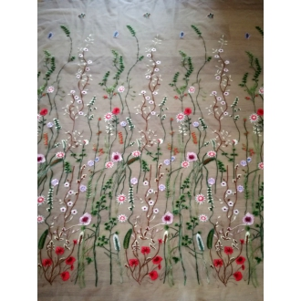 Tulle embroidery fabric Temporarily unavailable