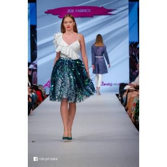 Originálna flitrová sukňa