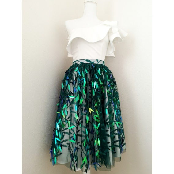 Original sequins skirt