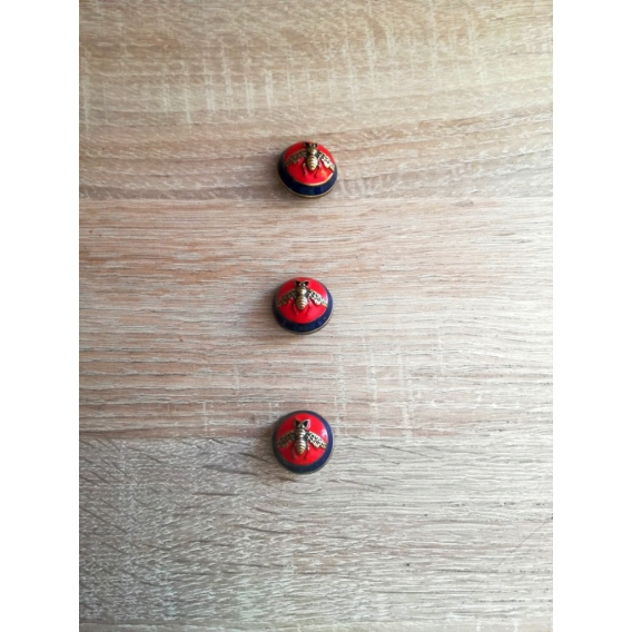 Metal button Gucci style 24mm
