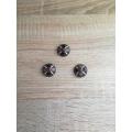 Metal button DG style 26mm