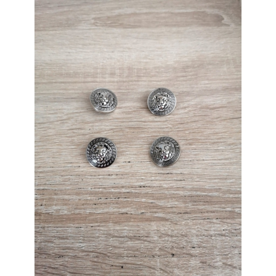 Metal button VERSACE style 25mm