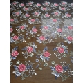 Tulle embroidery fabric 3D