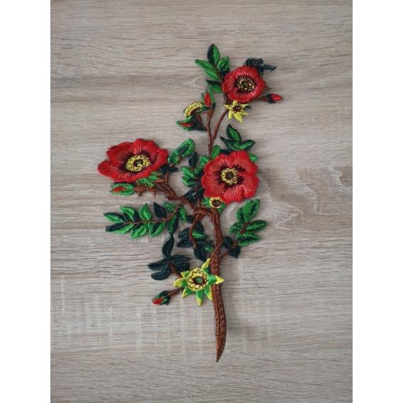 Applique trim flower