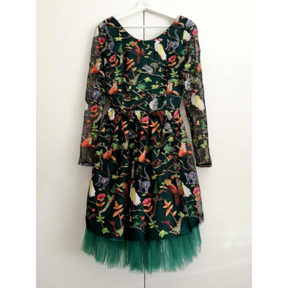 Original tulle dress FOREST