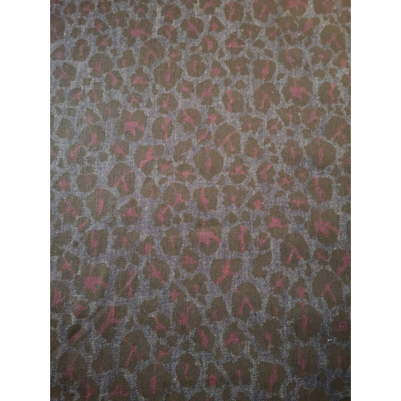 Printed jeans fabric