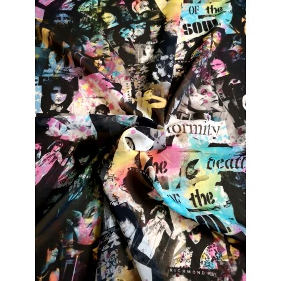 Chiffon Digital print
