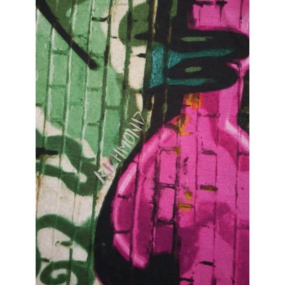 Silk stretch crep de chine JOHN RICHMOND