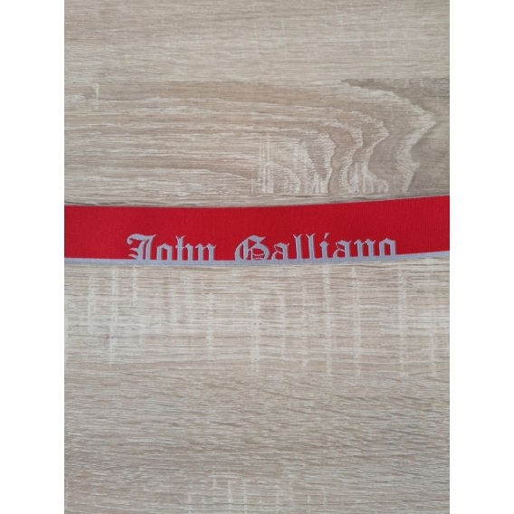 Decorative elastics John Galliano