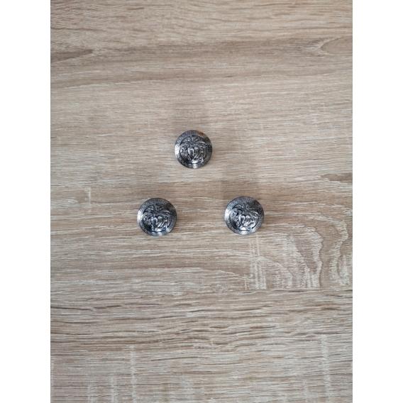 Kovový gombík VERSACE style 25mm