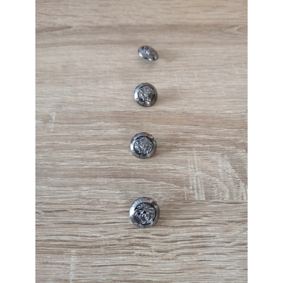 Metal button VERSACE style 20mm
