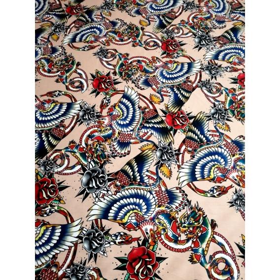 Premium cotton print