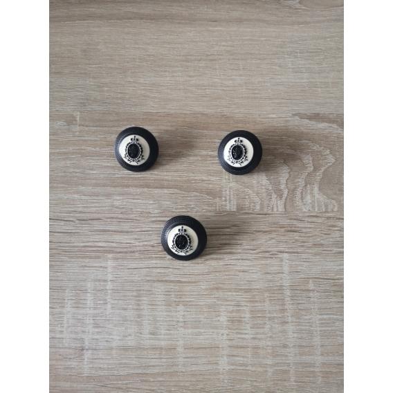Kovový gombík 30mm