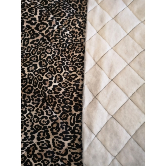 Quilted fabric