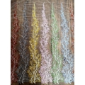 Tulle embroidery with sequins 10%OFF