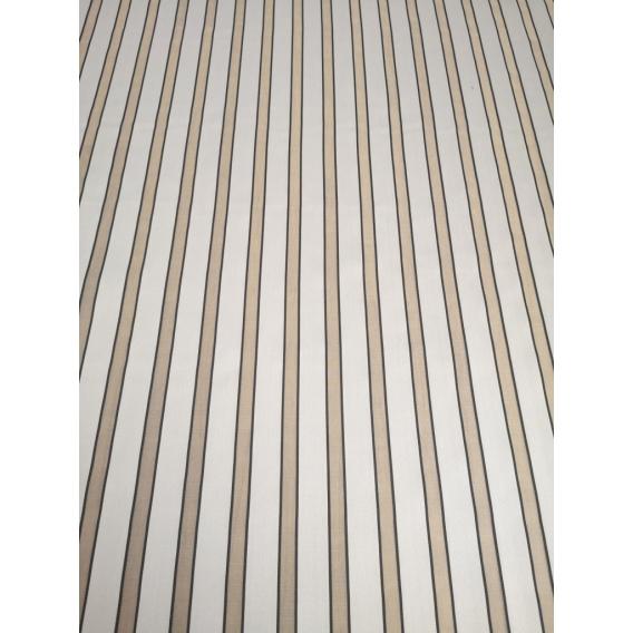 Silk organza stripes