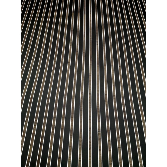 Silk organza stripes