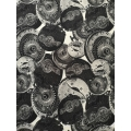 Printed jersey fabric John Richmond